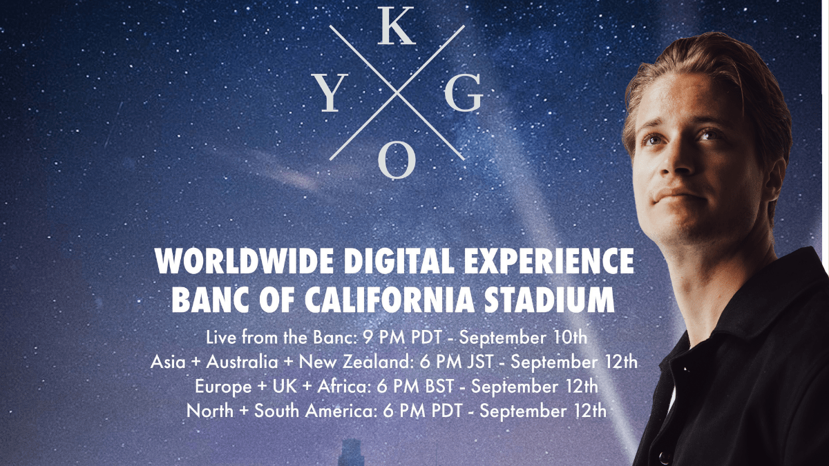 Kygo Is Taking The World To A Digital Concert In Los Angeles!
