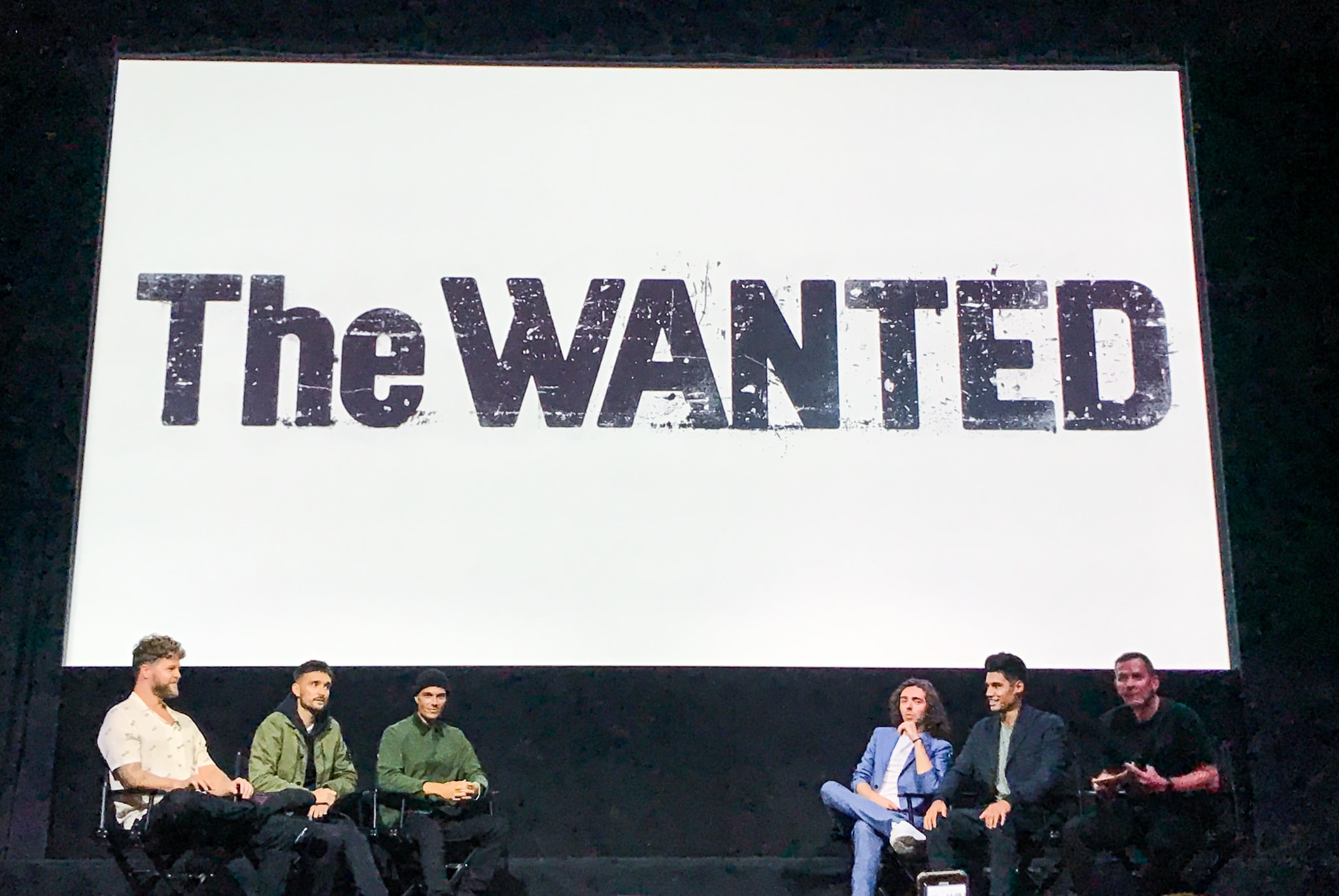 THE WANTED Press Event, London 8th September 2021