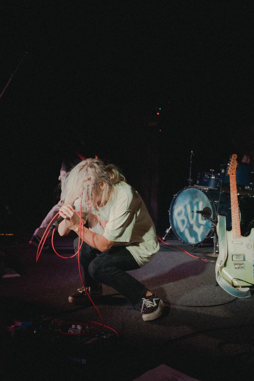 Bully performing at a sold-out Empty Bottle in Chicago, IL