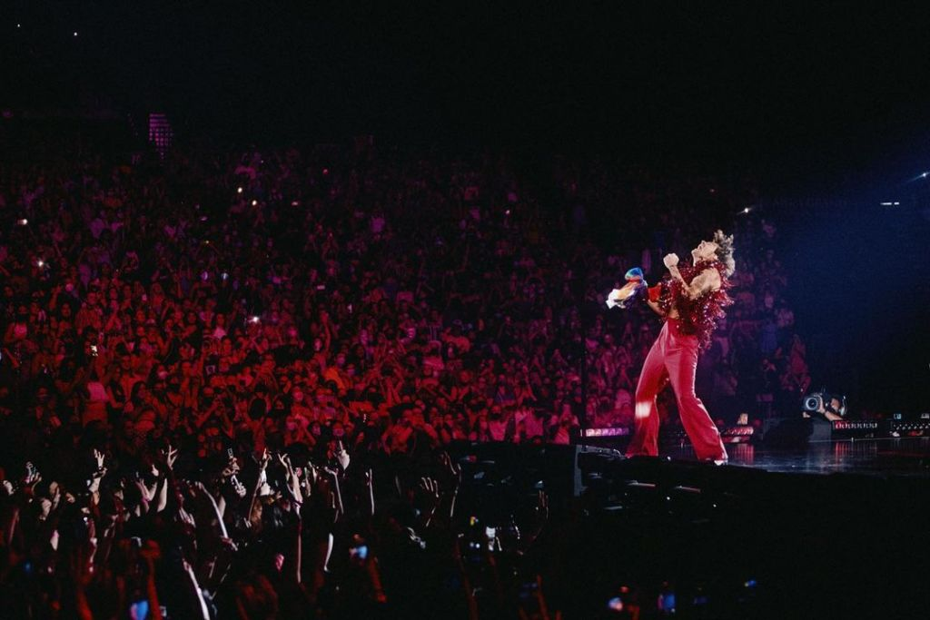 Interview: Meet The Fans Bringing Concert Projects To The Next Level Through Technology At Harry Styles Love On Tour The Honey POP Lightcert