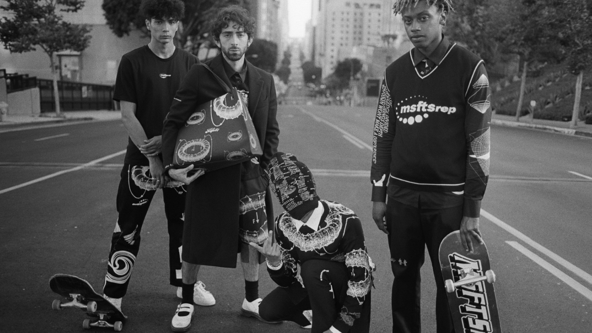 Jaden Smith's MSFTSrep Untitled Collection Revitalizes Youth Fashion