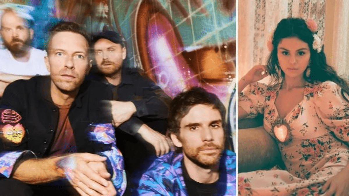 Coldplay 'Let Somebody Go' And It's Not Selena!