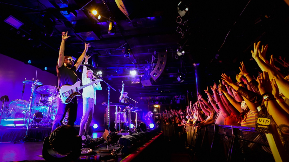 Walk The Moon Sold Out Paradise Rock Club For The Second Time In Boston!