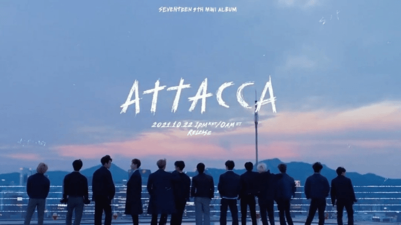 SEVENTEEN Tracks About Growing Up In Celebration of Attacca